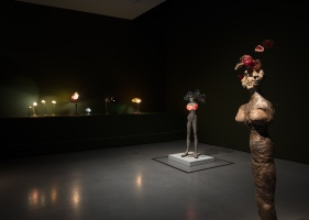 Installation view of Alina Szapocznikow: Human Landscapes at The Hepworth Wakefield 20 October 2017 – 28 January 2018. Photo: Lewis Ronald. Courtesy The Hepworth Wakefield