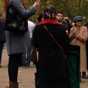 On my soapbox at Speaker's corner